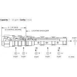 DCCCXCN 4-way, 3-position, pilot-to-shift directional valve