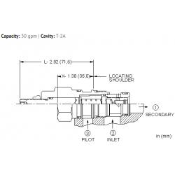 LPFCXHN Normally open, modulating element