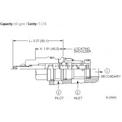 LPHCXHN Normally open, modulating element