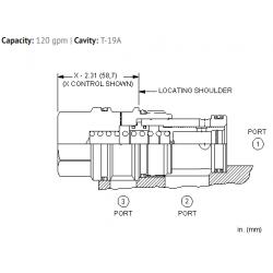 LPJCXHN Normally open, modulating element