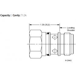 XBOBXXN All ports open cavity plug