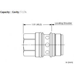 XHOBXXN All ports open cavity plug