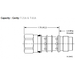 XMOBXXN All ports open cavity plug