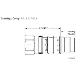 XMOBXXN All ports open cavity plug