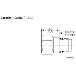 XZOAXXN All ports open cavity plug