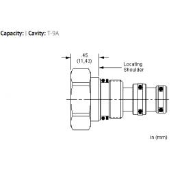 XACBXXN All ports blocked cavity plug