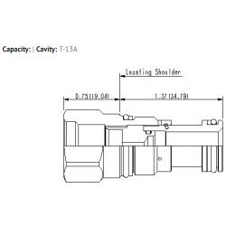 XGAA8XN T-13A cavity to T-8A cavity converter