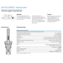 SV1-10-C/CM/CR - Solenoid valve