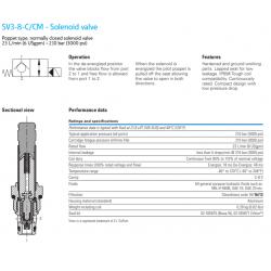 SV3-8-C/CM - Solenoid valve