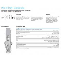 SV13-10-C/CM - Solenoid valve