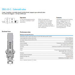 SBV1-10-C - Solenoid valve
