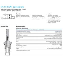 SV14-8-C/CM - Solenoid valve