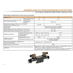 Rozdzielacze płytowe sterowane elektrycznie HPxWE