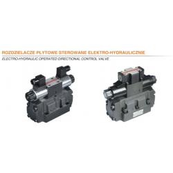 Rozdzielacze płytowe sterowane elektro-hydraulicznie HPx4WH/WEH