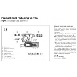 Proportional reducing valves RZGO-A-010