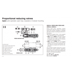 Proportional valves & cartridges RZGO-A33,HZGO-A-033
