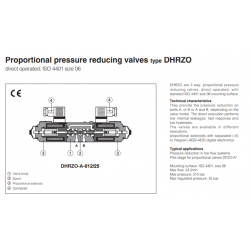 Proportional valves & cartridges DHRZO-A