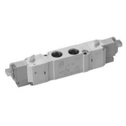 Zawory sterowane elektrycznie 5/3 CC serii Flowmatik