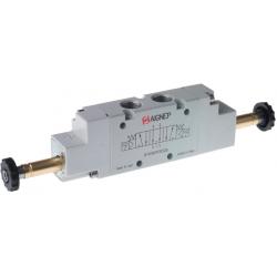 Zawory sterowane elektrycznie 5/3 CP serii Aignep