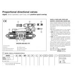 Proportional directional valves DHZO-A, DKZOR-A