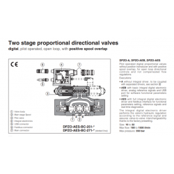 Two stage proportional directional valves DPZO-A