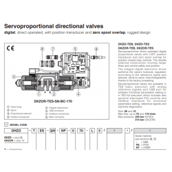 Servoproportional directional valves DHZO-T