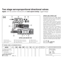 Two stage servoproportional directional valves DPZO-L