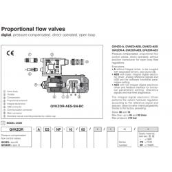 Proportional flow valves QVHZO-A, QVKZOR-A