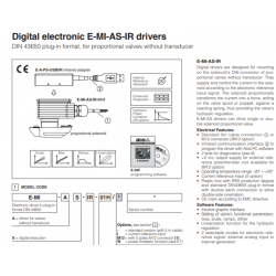 Digital electronic E-MI-AS-IR drivers E-MI-AS-IR