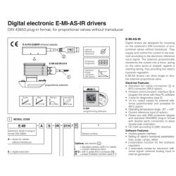 Digital electronic E-MI-AS-IR drivers E-MI-AS-IR
