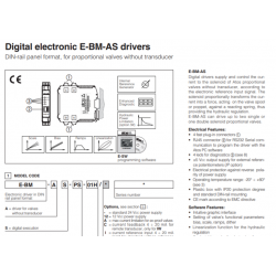 Digital electronic E-BM-AS drivers E-BM-AS
