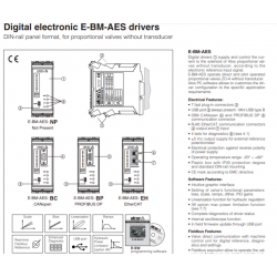 Digital electronic E-BM-AES drivers E-BM-AES