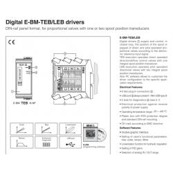 Digital E-BM-TEB/LEB drivers E-BM-TEB/LEB