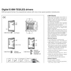 Digital E-BM-TES/LES drivers E-BM-TES/LES