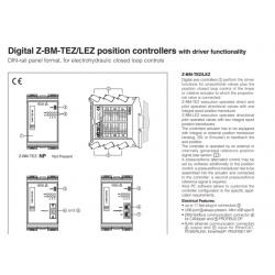 Digital Z-BM-TEZ/LEZ  position controllers with driver functionality Z-BM-TEZ/LEZ