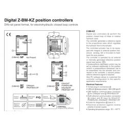 Digital Z-BM-KZ position controllers Z-BM-KZ