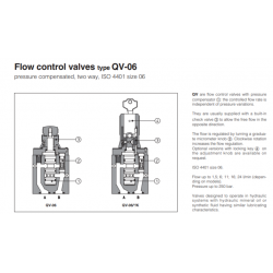 Flow control valves type QV-06