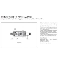 Mudular fast/slow valves type DHQ