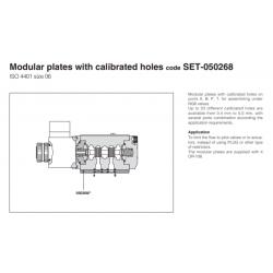 Modular plates with calibrated holes code SET-050268