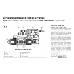 Servoproportional directional valves DHZO-TES, DKZOR-TES
