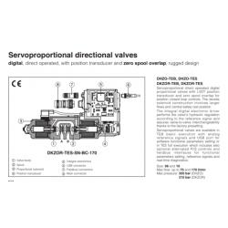 Servoproportional directional valves DHZO-TES, DKZOR-TES