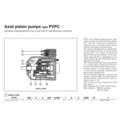 Axial piston pumps type PVPC