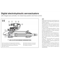 Digital electrohydraulic servoactuators AZC