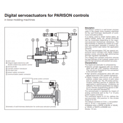 Digital servoactuators for PARISON controls CKZ