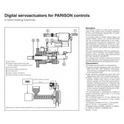 Digital servoactuators for PARISON controls CKZ