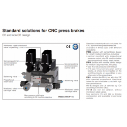 Standard solutions for CNC press brakes PB