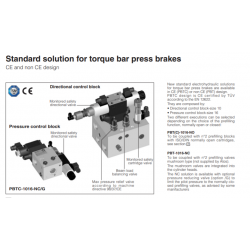 Standard solution for tarque bar press brakes PBT