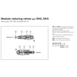 Modular reducing valves type SHG, SKG