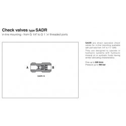 Check valves type SADR