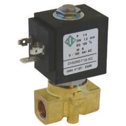 Seria 21A zawór elektromagnetyczny 2/2 wysokociśnieniowy normalnie zamknięty bezpośredniego działania